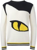 Ermanno Scervino 'cat's eye' motif jumper