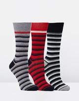 Ben Sherman Oath 3 Pack Socks