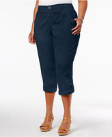 Style&Co. Style & Co Plus Size Capri Pants, Created for Macy's