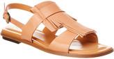 Tod's Leather Flat Sandal