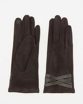 Le Château Faux Suede Touchscreen Gloves