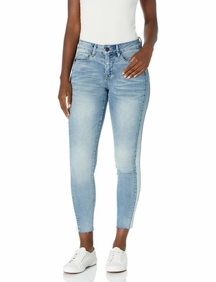 Lola Jeans Women's Mid Rise Skinny Ankle