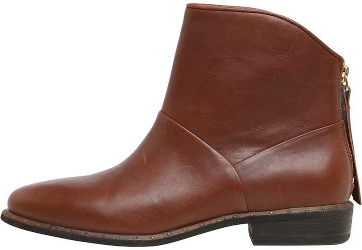 3fb22c57e98 Womens Bruno Boots Mid Brown