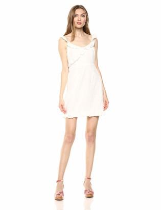 BB Dakota Womens say no More Cotton Jacquard dot Dress