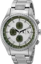 A|X Armani Exchange Armani Exchange Men's AX1613 Analog Display Analog Quartz Watch
