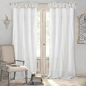 Elrene Home Fashions Jolie Semi-Sheer Window Panel, 52 x 108