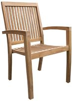 VC Living Outdoor Dining Chairs Portsea Chair, Brown