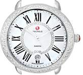 Michele Women's MW21B01A1963 Serein 16 Analog Display Swiss Quartz Silver Watch Head