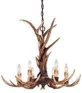 Blue Ridge Savoy House 1-40017-6-56 Collection 6-Light Chandelier, New Tortoi...