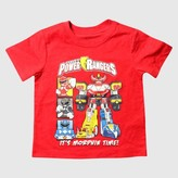 Power Rangers Toddler Boys' T-Shirt - Red Heather