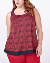 Penningtons Sleeveless Printed Swing Top