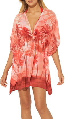 BLEU by Rod Beattie Cover-Up Caftan