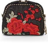 Chesca Rose Embroidered Shoulder Bag