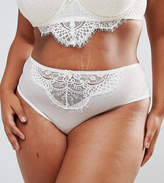 New Look Plus New Look Curve Bridal Sheer Lace Brief