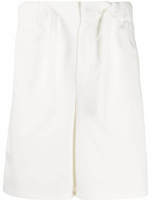 Kenzo Drawstring Waist Cotton Shorts