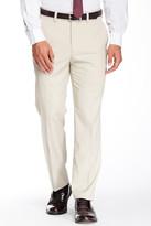 """Louis Raphael Solid Herringbone Modern Fit Pant - 30-34"""" Inseam"""