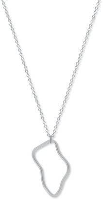 A Weathered Penny Silver Orla Necklace