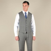 Jeff Banks Grey Check 5 Button Luxury Tailoring Waistcoat
