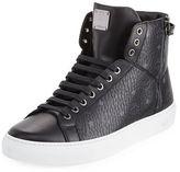 MCM Visetos High-Top Sneaker
