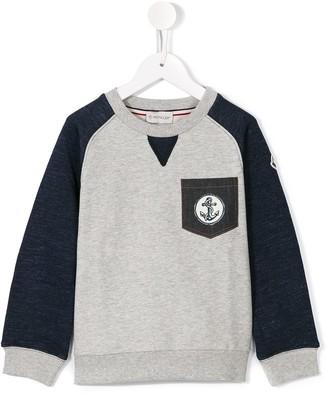 Moncler chest pocket sweatshirt
