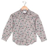 Rachel Riley Boys' Printed Button-Up Shirt