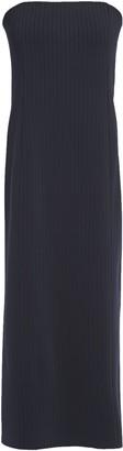 Givenchy Strapless Ribbed-knit Midi Dress