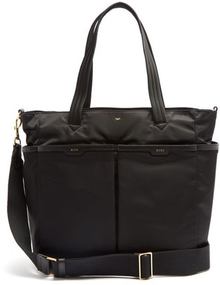Anya Hindmarch Baby Small Nylon Changing Bag - Womens - Black