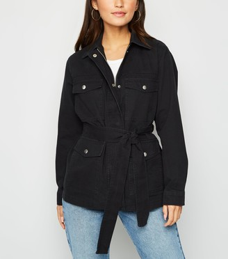 New Look Petite Belted Lightweight Jacket
