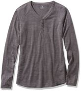 L.L. Bean Mountain Trail Merino V-Neck Henley