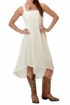 Roper Ivory Crepe Dress