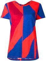 Proenza Schouler geometric print T-shirt - women - Cotton - XS