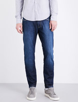 Armani Jeans Washed slim-fit skinny jeans