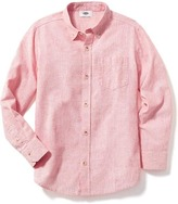 Old Navy Linen-Blend Shirt for Boys