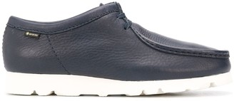 Clarks Exposed-Seam Lace Up Shoes