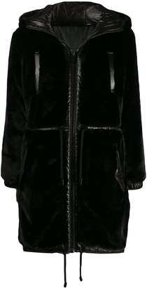 MICHAEL Michael Kors reversible hooded parka coat