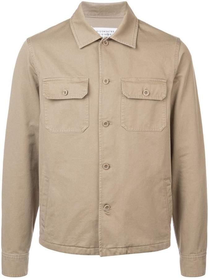 Maison Margiela buttoned shirt jacket