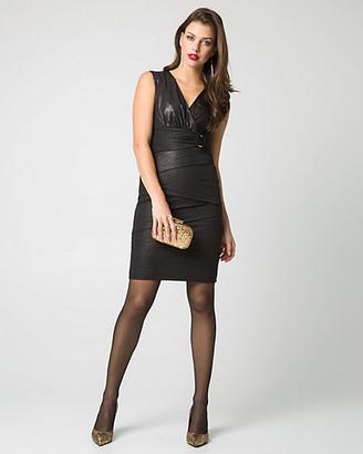 Le Château Knit V-Neck Dress