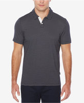 Perry Ellis Men's Classic-Fit Geo Jacquard Polo