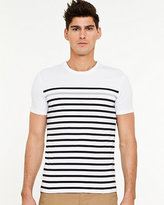Le Château Stripe Slim Fit T-Shirt