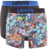 Levis 200SF Underwear 2 Pack Trunks Navy