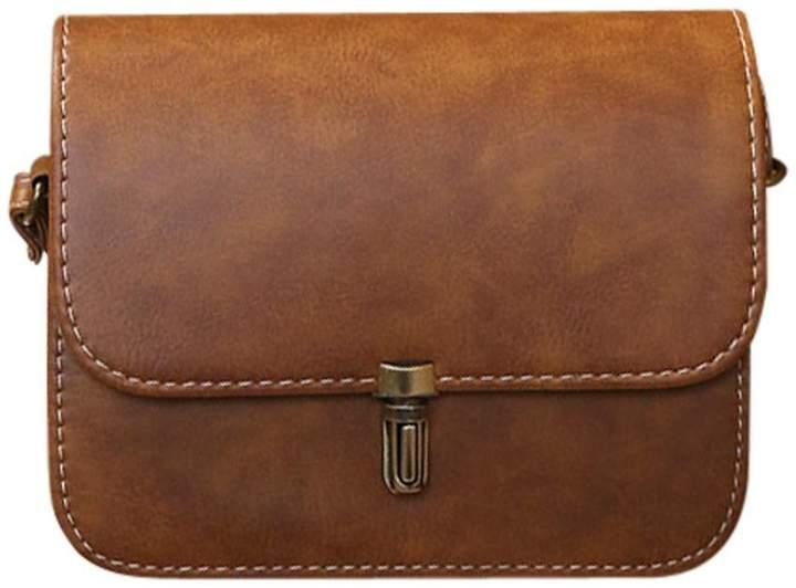 57086c8b0597 Clearance Deals Women Shoulder Bag, TOOPOOT Lady Vintage Leather Shoulder  Tote Messenger Crossbody Bag (ONE, )