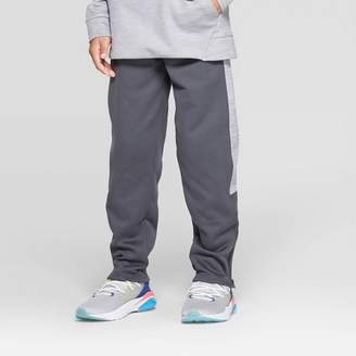Champion Boys' Textured Tech Fleece Slim Fit Pants
