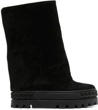 Casadei Renna wedge boots