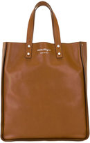Salvatore Ferragamo rectangular shopping tote bag - men - Leather - One Size