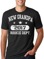 Silk Road Tees New Grandpa 2017 T-shirt Gift for new grandfather Baby announcement gift