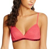 Beedees Women's BeeCasual IA 8160 N Non-Wired Everyday Bra - Red - 32C