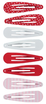 George 8 Pack Assorted Snap Clips