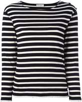 Saint Laurent horizontal stripe top