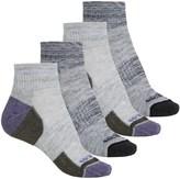 Weatherproof Terry Outdoor Socks - 4-Pack, Quarter Crew (For Women)