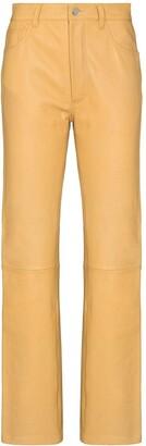 Sunflower Straight-Leg High-Rise Trousers